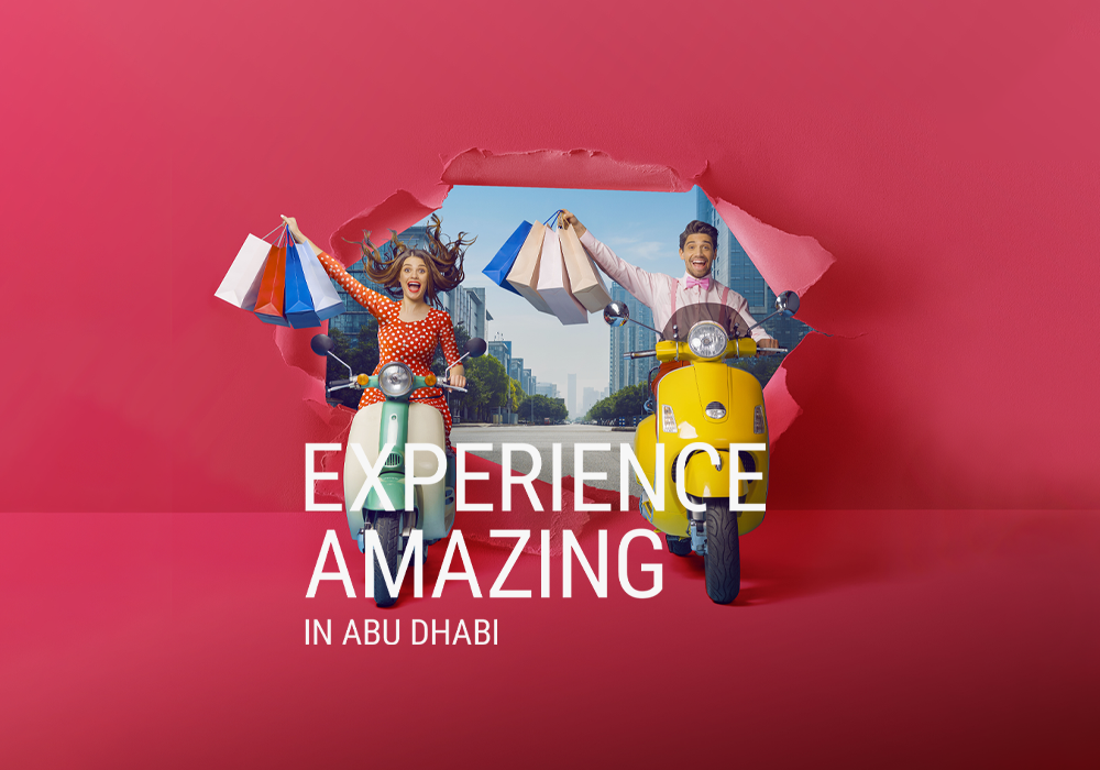 We Welcome You Back with <br />Abu Dhabi's <br />'Unbox Amazing' Summer Campaign